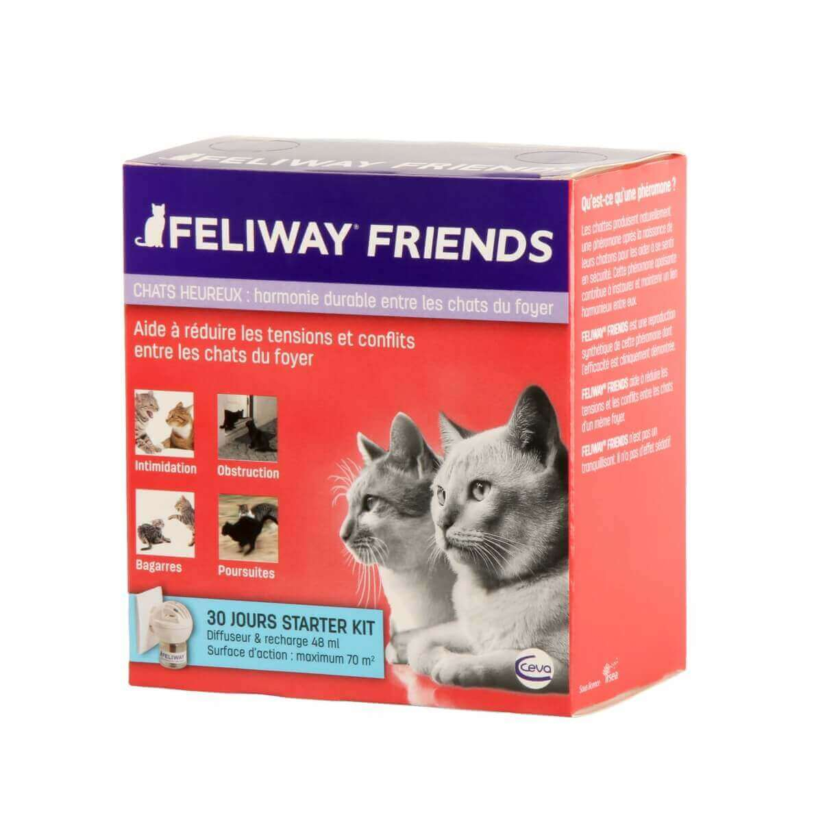 FELIWAY Friends Diffuseur - Facilite la cohabitation entre chats_3