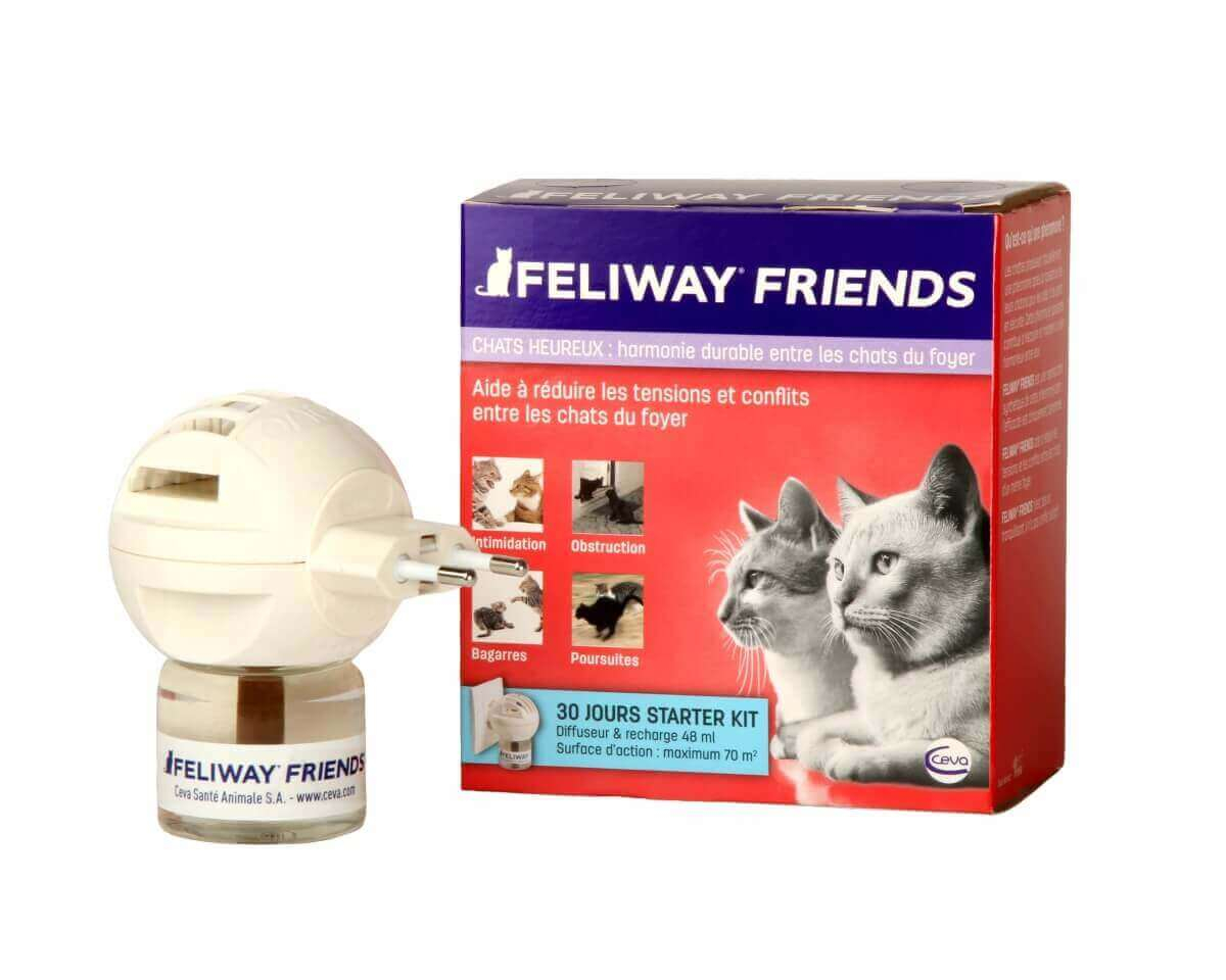 FELIWAY Friends Diffuseur - Facilite la cohabitation entre chats_0