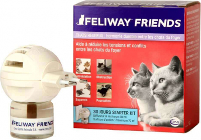 Feliway Friends - facilite la cohabitation entre chats