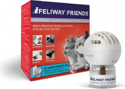 Feliway Friends Diffusore - Facilita la coabitazione tra gatti