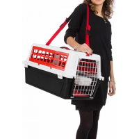 Panier de transport Atlas Trendy Plus rouge