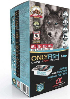ALPHA SPIRIT ONLY FISH for Adult Dogs