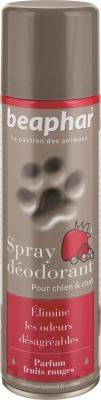 Spray déodorant, parfum fruits rouges