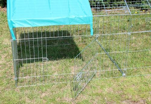 Enclos, cage d'extérieur fermé ZOLIA TITO 220cm_1