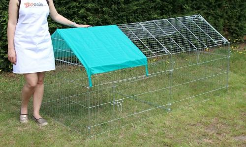 Enclos, cage d'extérieur fermé ZOLIA TITO 220cm_3
