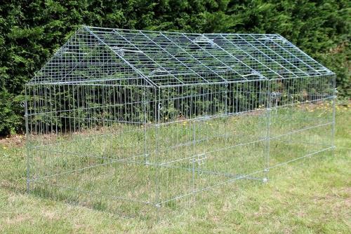 Enclos, cage d'extérieur fermé ZOLIA TITO 220cm_5