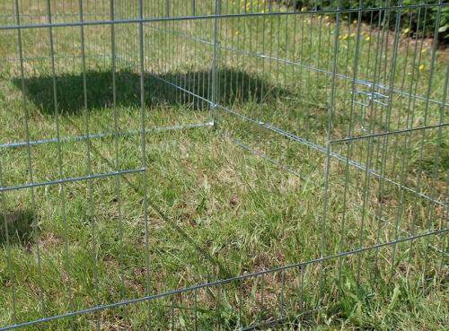 Enclos, cage d'extérieur fermé ZOLIA TITO 220cm_7