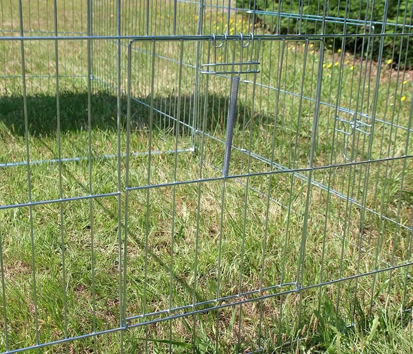 Enclos, cage d'extérieur fermé ZOLIA TITO 220cm_6