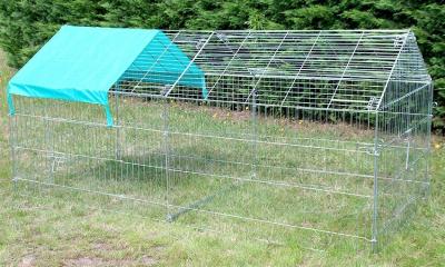 Enclos, cage d'extérieur fermé ZOLIA TITO 220cm