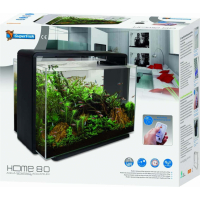 Aquarium Superfish Home 80 blanc ou noir