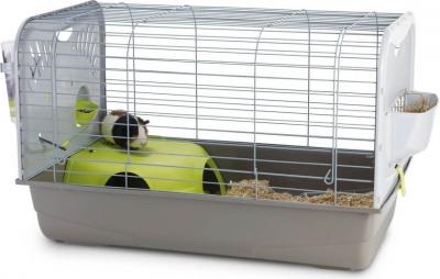 Käfig CAESAR 2 DE LUXE für Kaninchen und Meerschweinchen 80cm