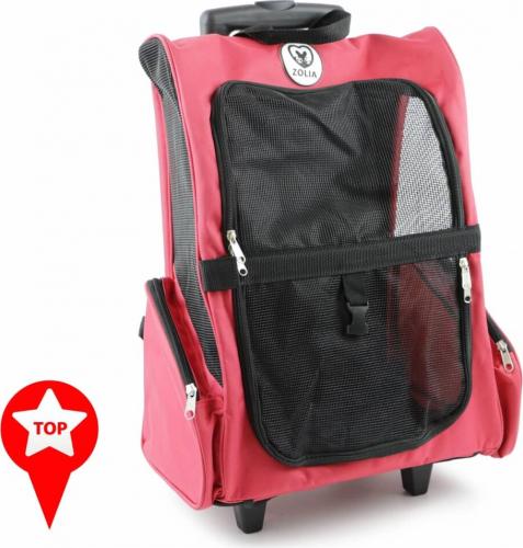 Sac de transport à roulettes ZOLIA Trolley IVY RED_0