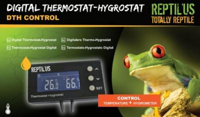 Thermostat hygromètre DTH Control