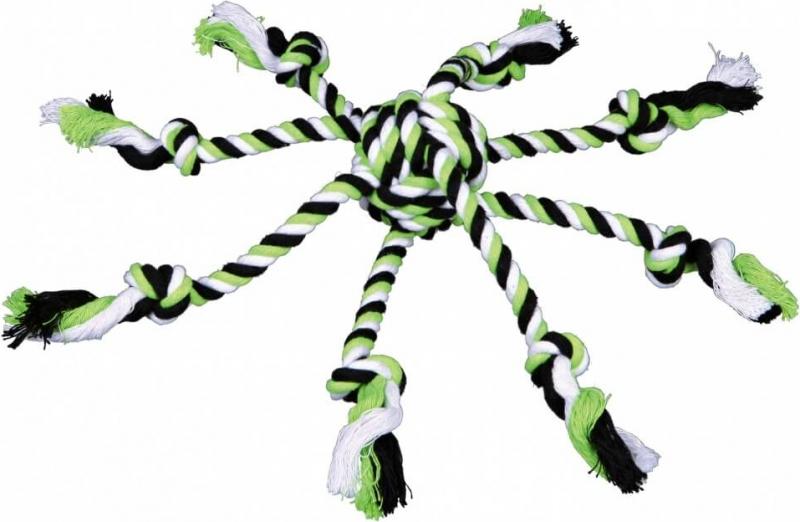 Denta Fun pieuvre en corde pour chien