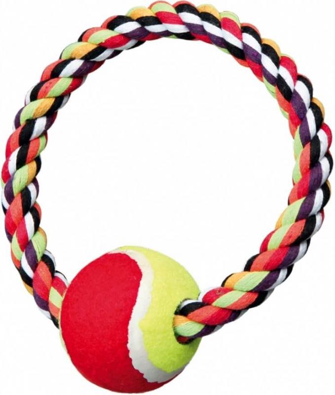 Balle de tennis sur une corde Denta Fun