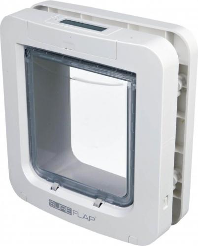 gro e haustierklappe sureflap mit mikrochip zur identifizierung katzenklappen t rchen. Black Bedroom Furniture Sets. Home Design Ideas
