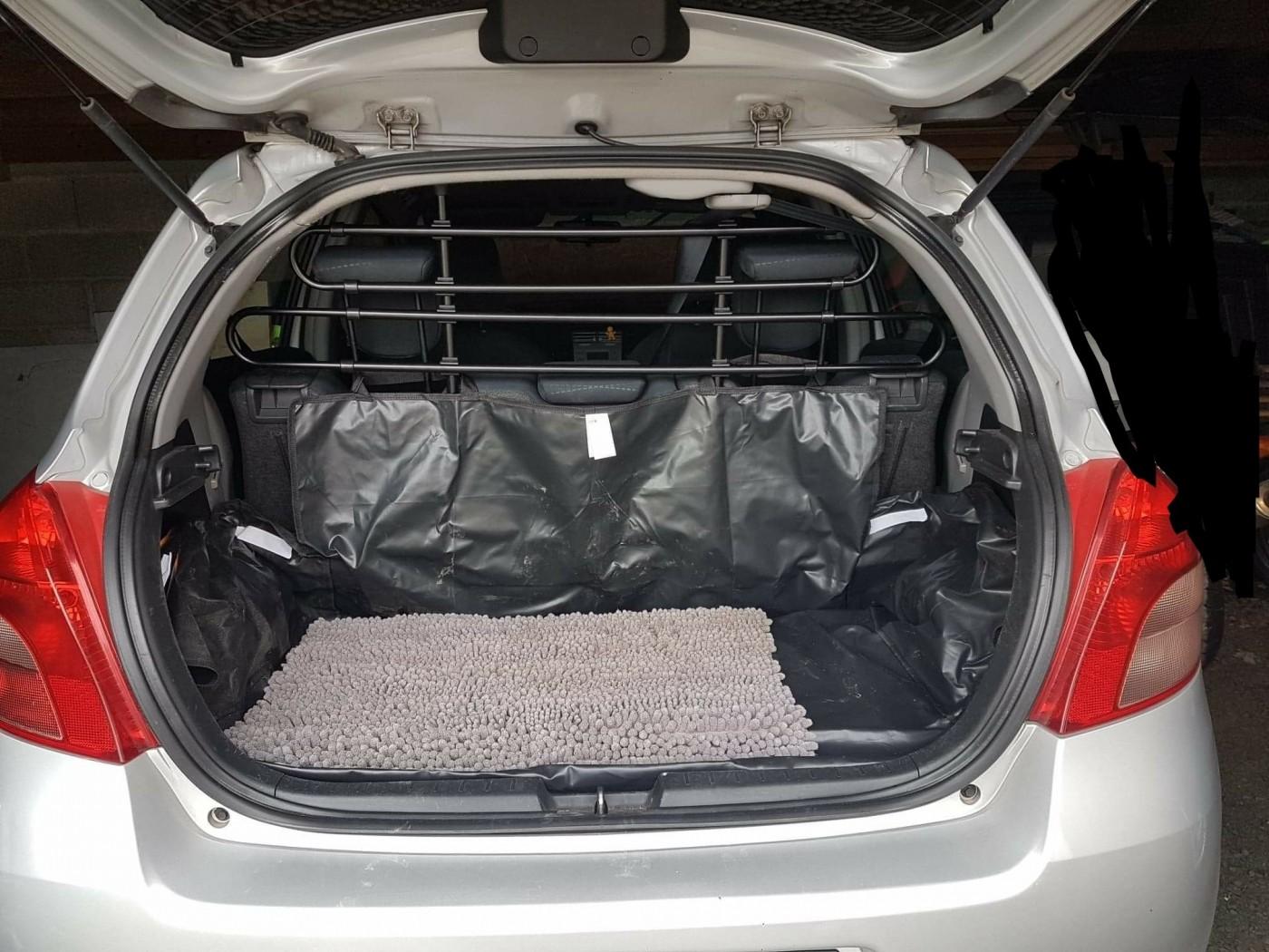 grille de protection pour voiture 3 l ments. Black Bedroom Furniture Sets. Home Design Ideas