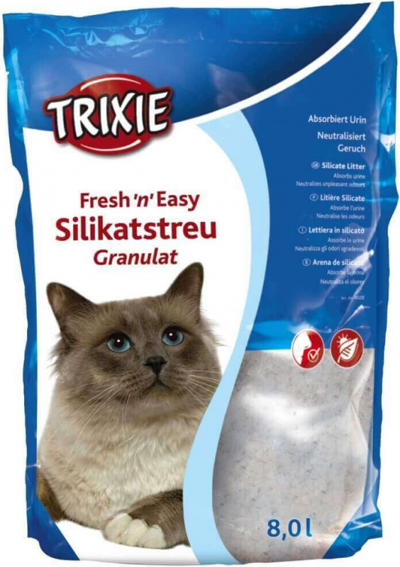 Fresh'n'Easy Litière Silikatsreu Granulat