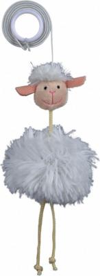 Mouton sur bande élastique