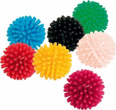 Balle hérisson colorée Ø 3cm