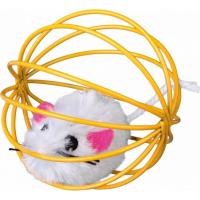 Maus in Metallkugel für Katzen