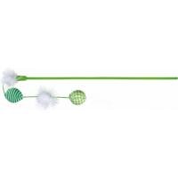 Canne à pêche avec balles peluche et tissu