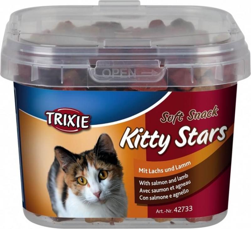 Soft Snack Kitty Stars à l'agneau et au saumon