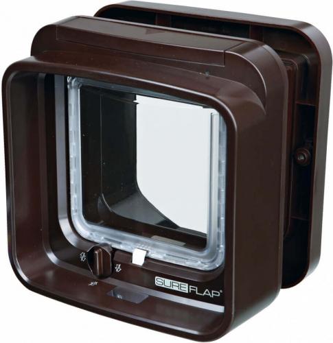 chati re sureflap dual scan avec puce d 39 identification chati re filet. Black Bedroom Furniture Sets. Home Design Ideas