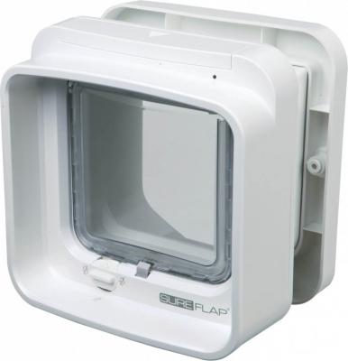 Chatière SureFlap Dual Scan avec puce d'identification