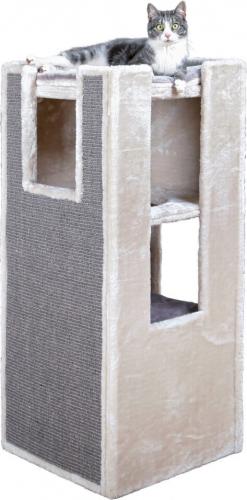 combin tour griffer et arbres chats sarita 100cm griffoir. Black Bedroom Furniture Sets. Home Design Ideas