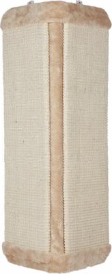 Griffoir XL d'angle avec peluche beige