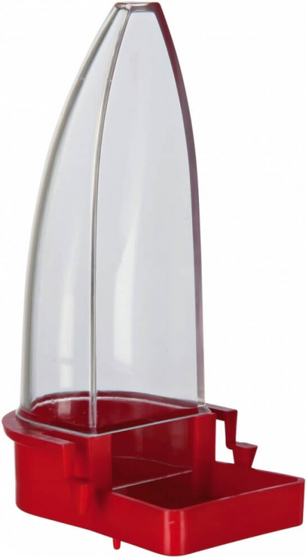 Distributeur eau et nourriture en plastique avec base large