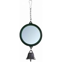 Miroir rond avec clochette