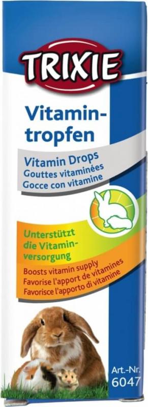 Vitamin Drops für Nagetiere