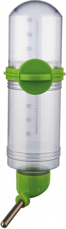 Biberon en plastique gradué avec vis de fixation
