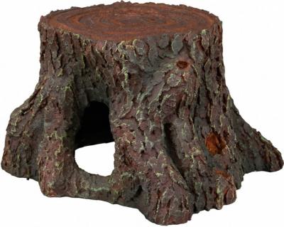 Souche d'arbre en résine polyester