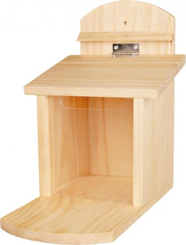 futterreservoir f r eichh rnchen nistk sten. Black Bedroom Furniture Sets. Home Design Ideas