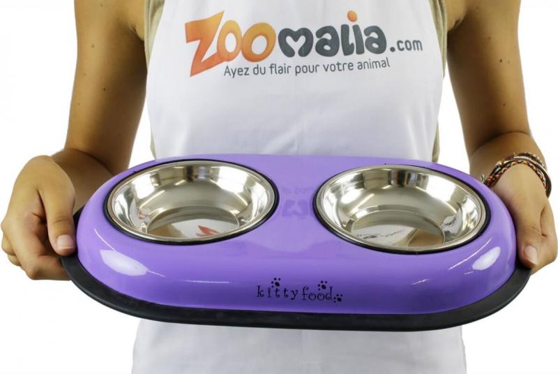 Double bowl Panga in purple