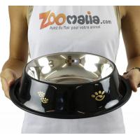 Gamelle noire anti-dérapante ZOLIA Perly - plusieurs tailles disponibles