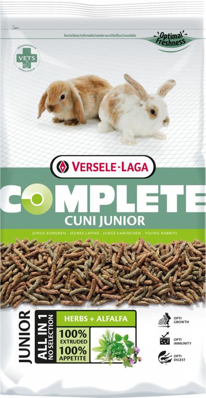 Versele Laga Complete Cuni Junior jeune lapin (nain) de 6 à 8 mois