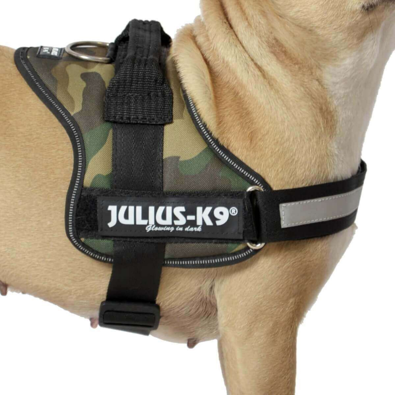 JULIUS K9 Harnais K9-Power Camouflage