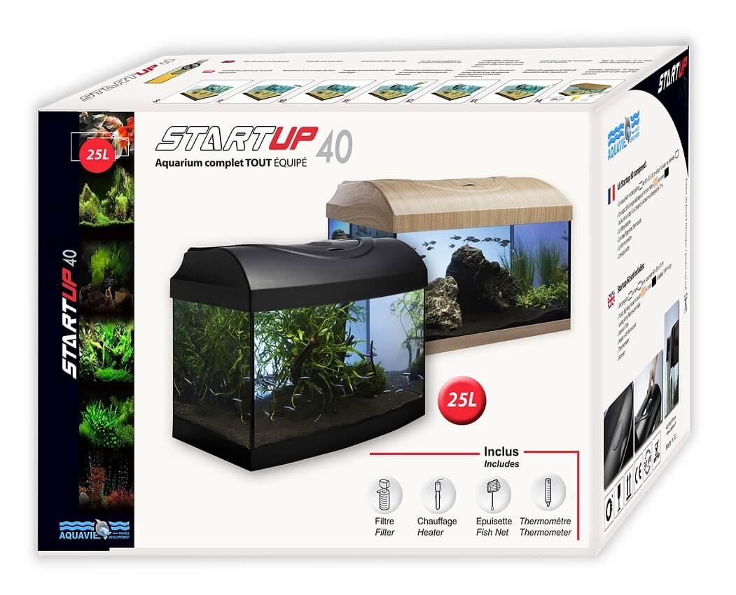 Aquarium noir StartUp 40 équipé _1
