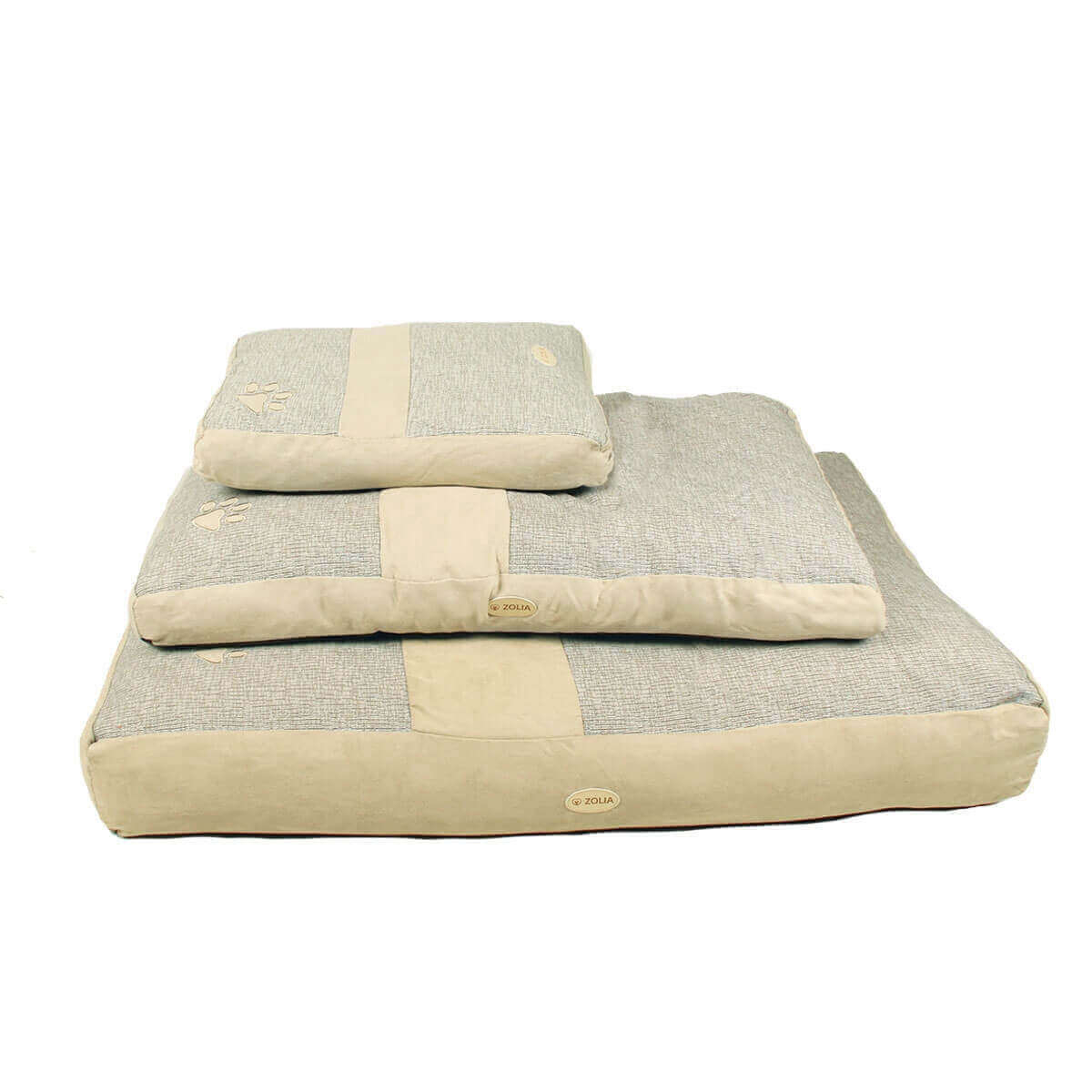 Cojín ZOLIA desenfundable MACAO color gris y beige_4