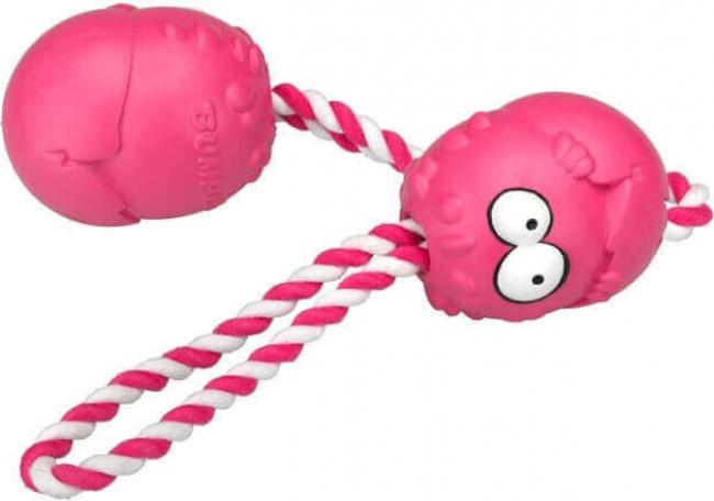 Bumpies rose avec corde goût fraise