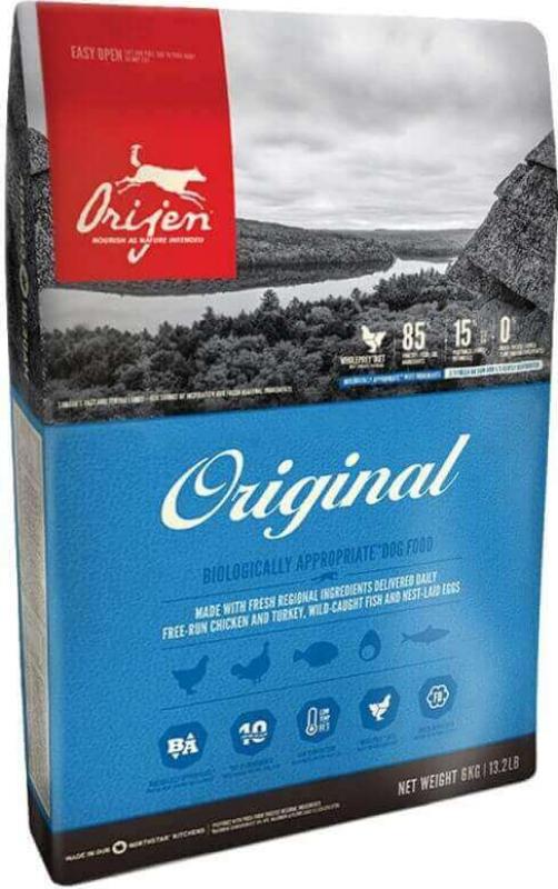 ORIJEN Original Sans Céréales pour chien et chiot