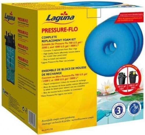 Esponjas de recambio para filtro Pressure Flo LAGUNA
