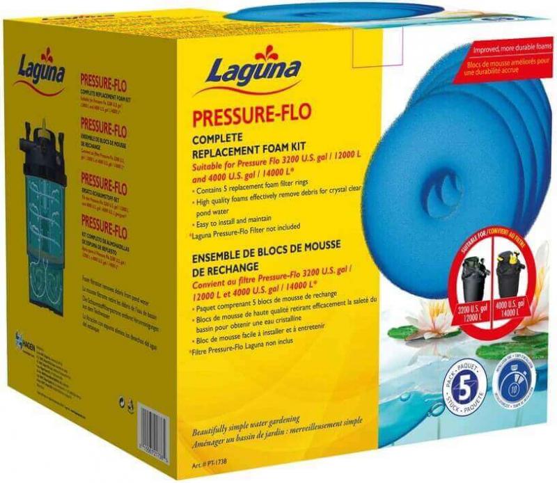 Mousses de rechange pour Laguna Pressure Flo et ClearFlo