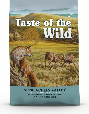 TASTE OF THE WILD Appalachian Valley con Cervo per cani di taglia piccola