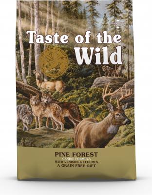 TASTE OF THE WILD Pine Forest Senza Cereali con Cervo per cani