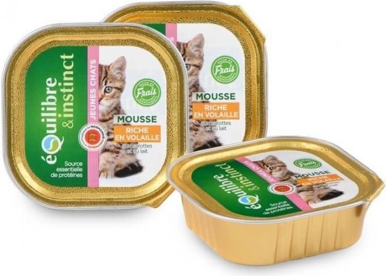 Equilibre & Instinct Terrine pour chaton - 2 saveurs au choix